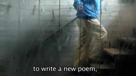 titos, a poet in precarious balance.