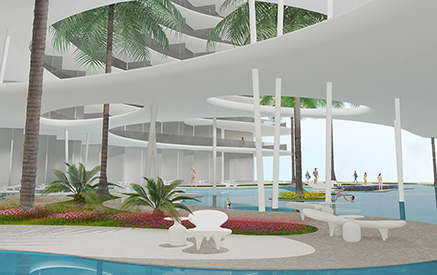 5* hotel in dubai: facade variations