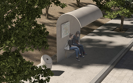 dodecanese street furniture competition: mob architects have won three first prizes